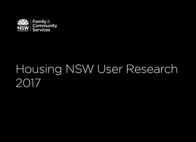 MyHousing User Research